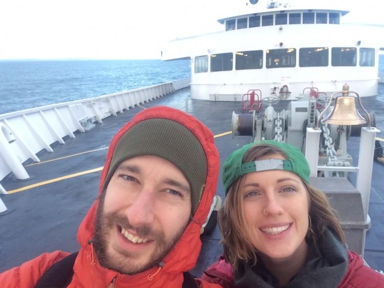 Taking the ferry to Washington