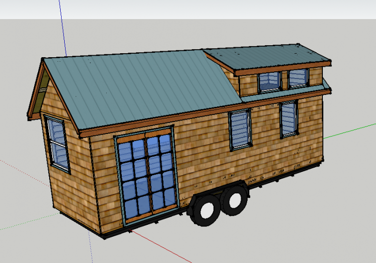 Modelling the house in 3D has been an invaluable excersise