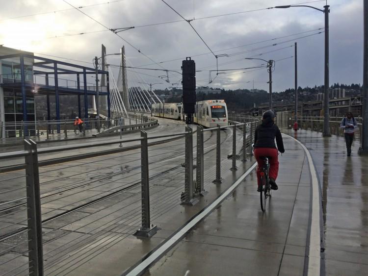 Exploring Portland by bike