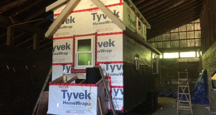 Tiny House Construction – Weeks 13-16