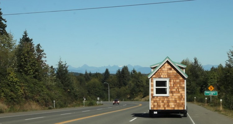 Tiny House Construction – Week 27 and a Move