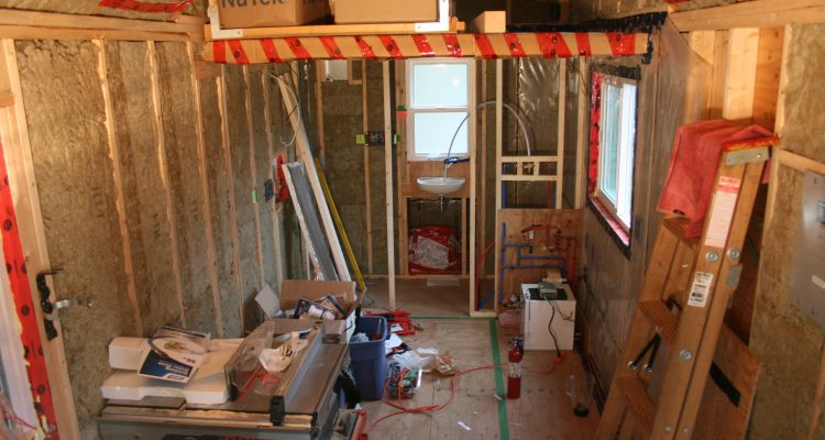 Tiny House Construction: Propane, More Plumbing & A Bit of Electrical