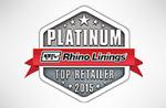 Platinum rhino linings top retailer 2015