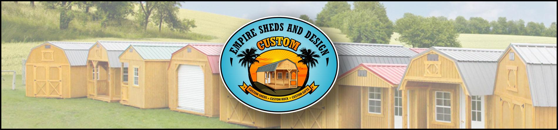 Empire Sheds and Design Designs Sheds in Modesto, CA