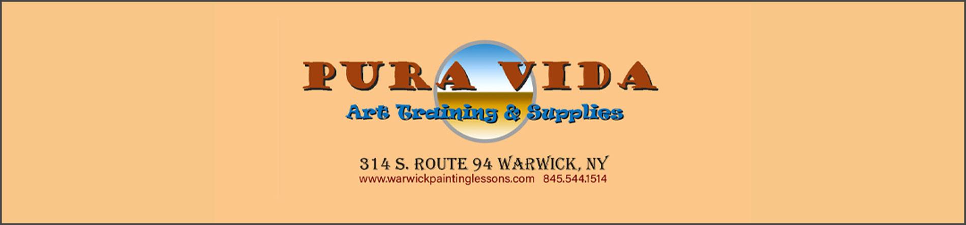 Pura Vida Art Training & Supplies is an Art School and Art Supplies Store in Warwick, NY