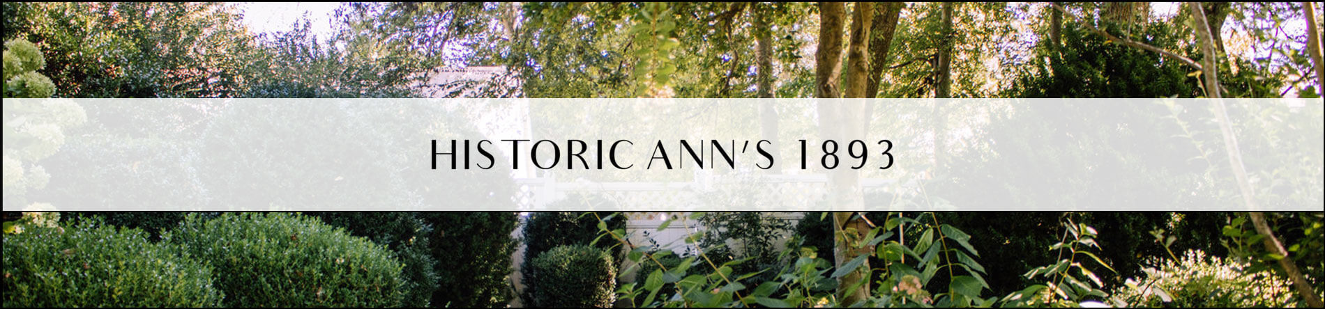 Historic Ann's 1893, Wedding & Event Venue is a Venue in