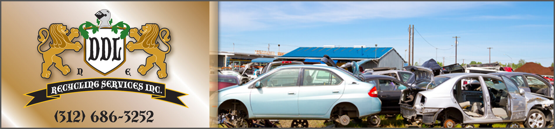 DDL Recycling Services is a Junk Car Recycling Center in Chicago, IL