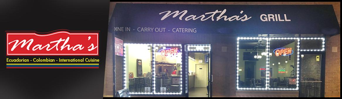 Martha S Fresh Grill Ecuadorian Colombian And