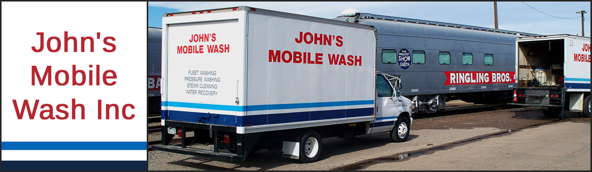 John's Mobile Wash Inc is an Industrial and Commercial Power
