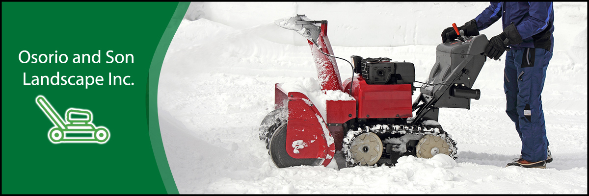 Osorio and Son Landscape Inc Does Snow Removal Service in Waltham, MA