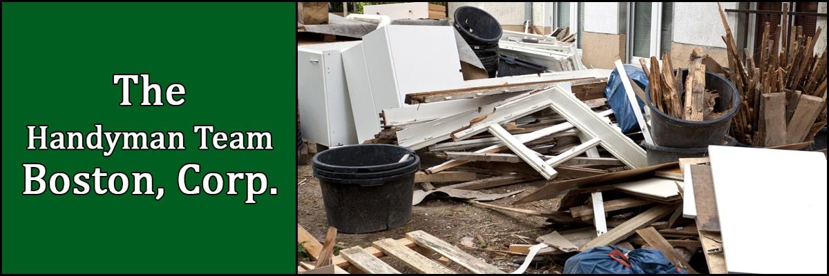 The Handyman Team Boston, Corp. Offers Junk Removal in Boston, MA