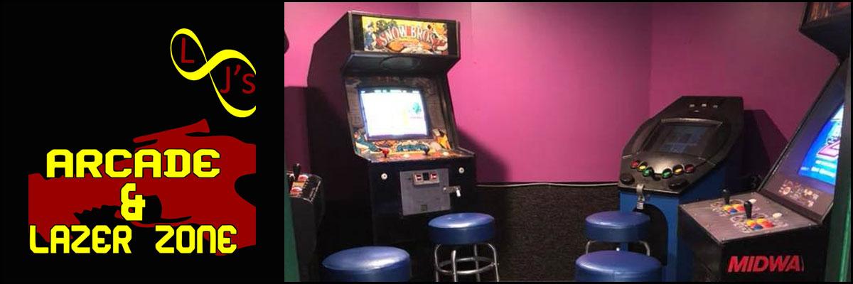 LJ's Arcade & Lazer Zone has an Arcade in Leesville, LA