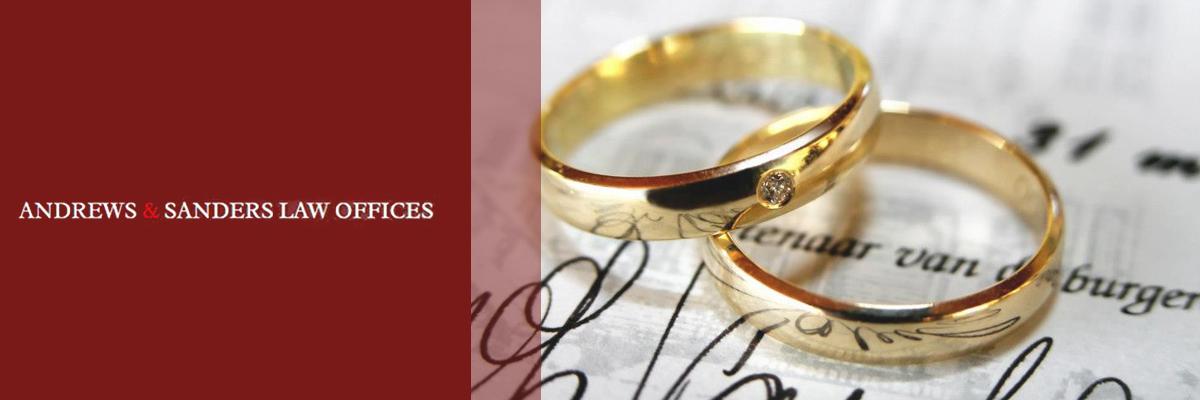 Andrews & Sanders Divorce Law Offices offers Divorce Law in