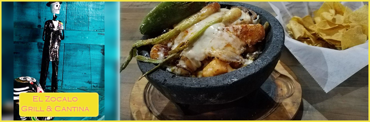 El Zocalo Grill & Cantina offers Happy Hour in Blaine, MN