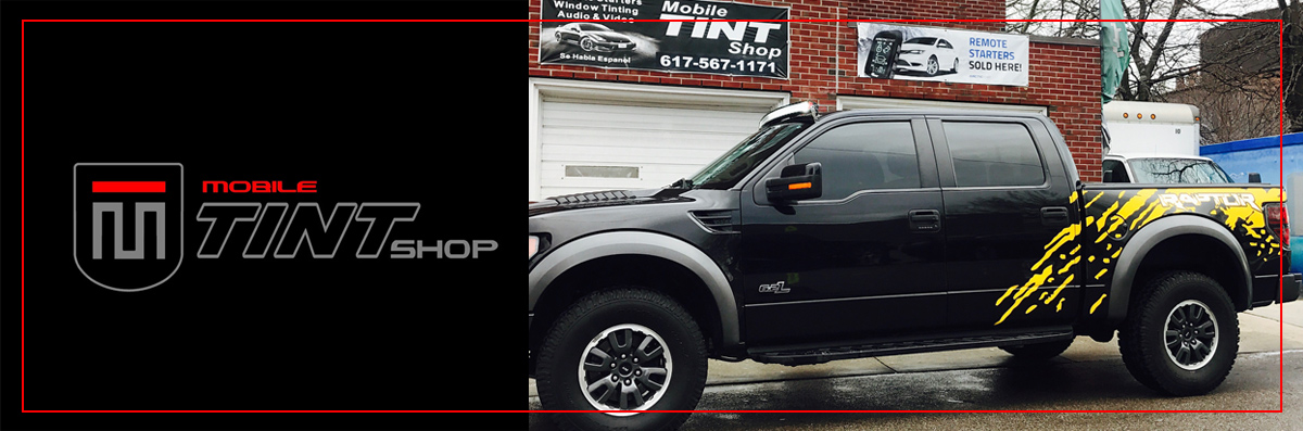 Mobile Tint Shop provides Vehicle Wraps  in Woburn, MA