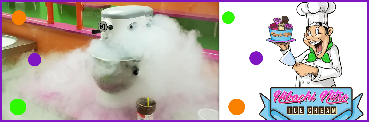 Hibachi Nitro Ice Cream offers Liquid Nitrogen Ice Cream in Boca Raton, FL