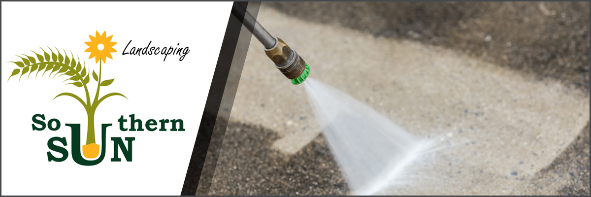 Southern Sun Landscaping, LLC Offers Power Washing in Roanoke, VA