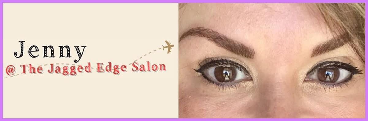 Jenny Brows @ the Jagged Edge Salon Offers Facial Services in Pflugerville, TX