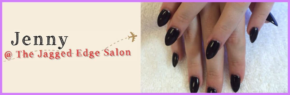 Jenny Brows @ the Jagged Edge Salon Offers Nail Services in Pflugerville, TX