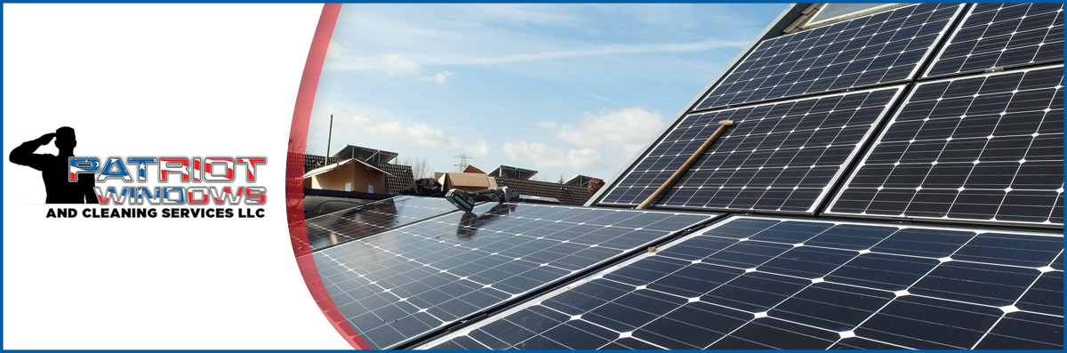Patriots Windows and Cleaning Services Offers Solar Cleaning in Prescott, AZ