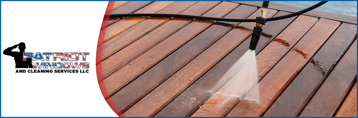 Patriots Windows and Cleaning Services Offers Pressure Washing in Prescott, AZ