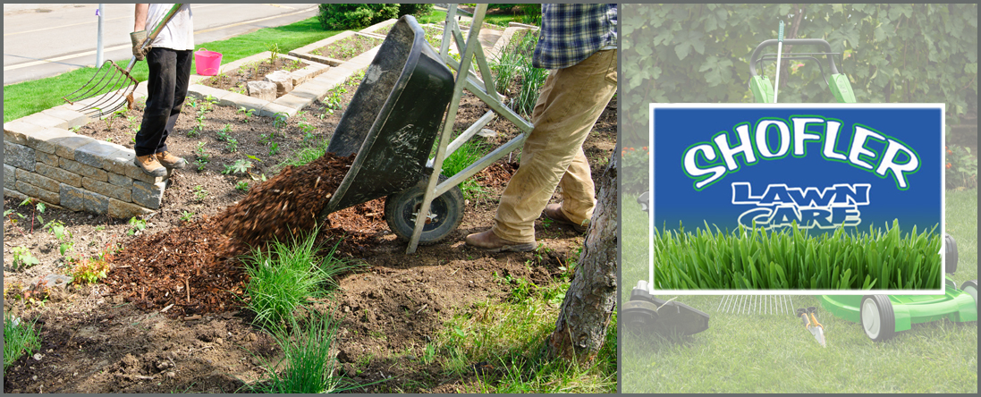 Shofler Lawn Care Offers Mulching Services in Center Town, MO