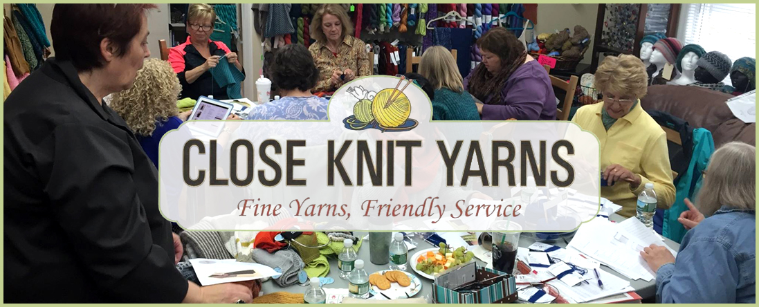 Close Knit Yarns Offers Knitting Classes in Midland Park, NJ
