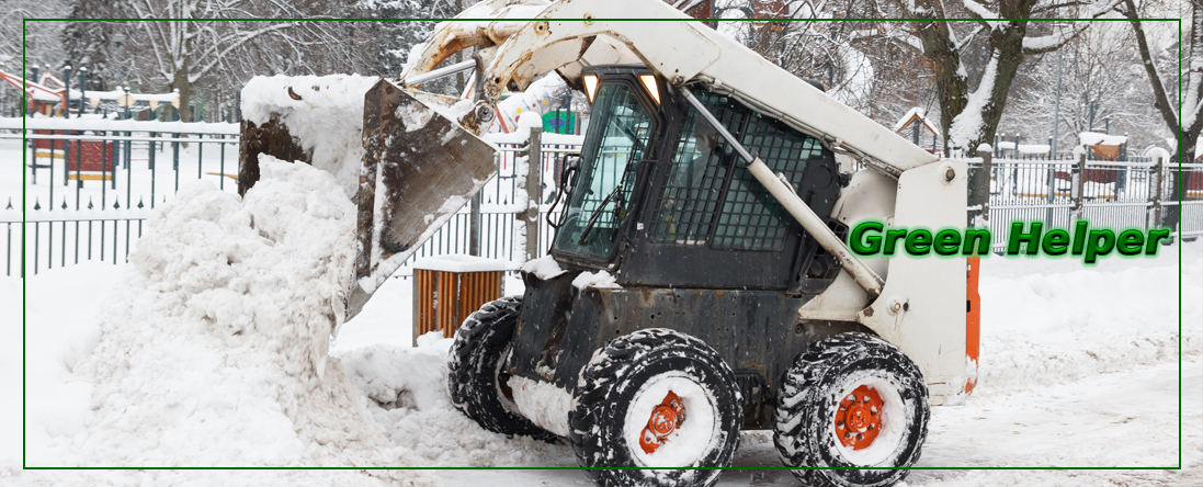 Green Helper Offers Snow Removal in Anchorage, AK