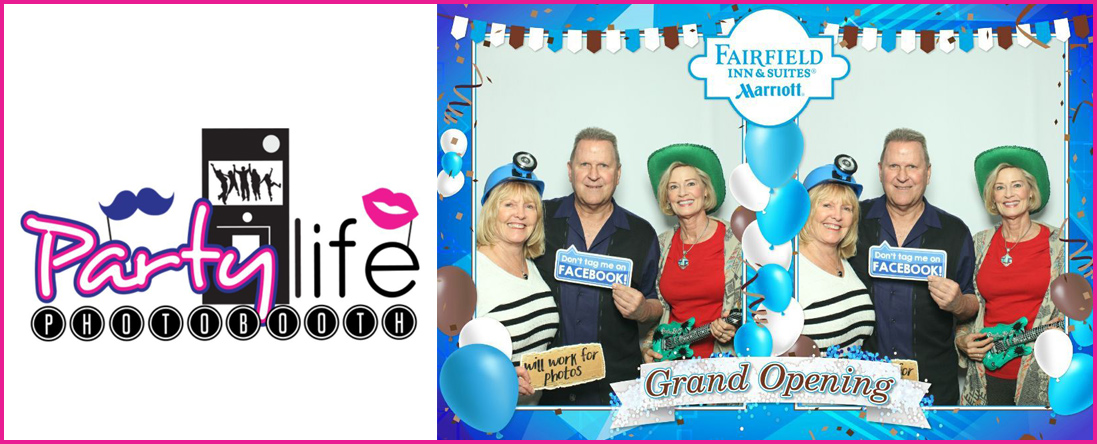Party Life Photo Booth is a Photo Booth Service in Thousand Palms, CA