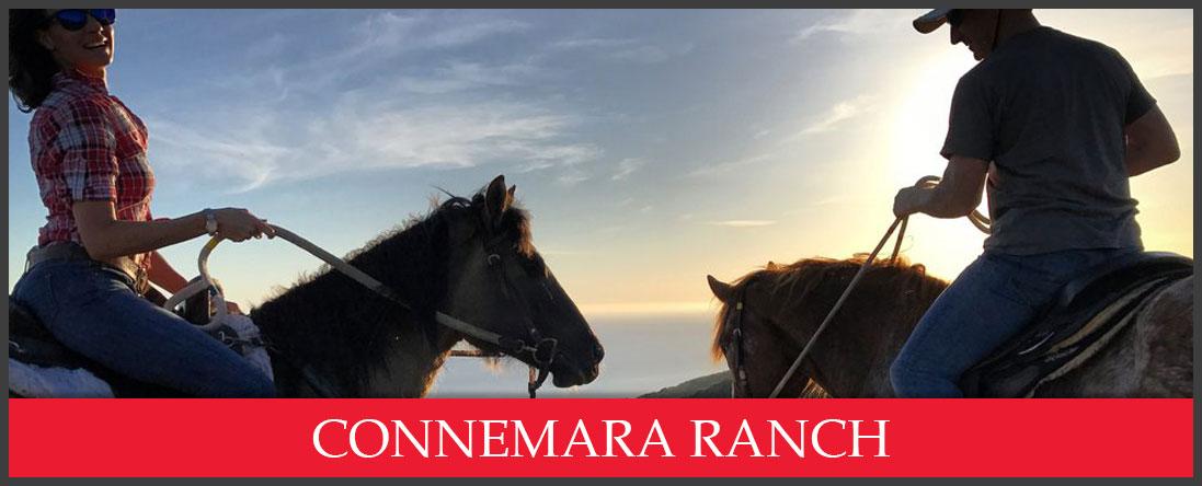 Connemara Ranch has Private Ocean View Trail Rides in Malibu, CA