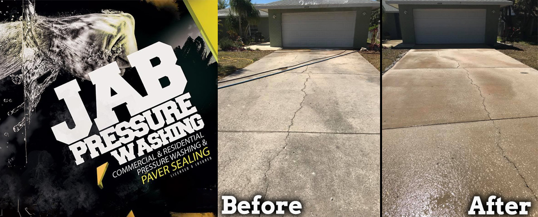 JAB Pressure Washing Services is a Power Washing Company in
