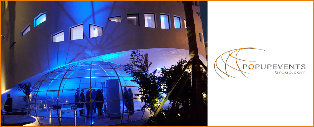 pOpUpEventsgroup Offers Tents in Miami, FL