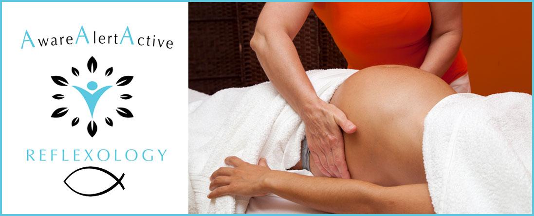 Aware Alert Active Reflexology Performs Pregnancy Reflex Massage in Tulsa,OK