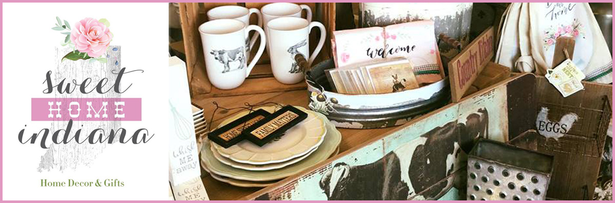 Sweet Home Indiana Gifts offers Country Decorating in Saint John, IN