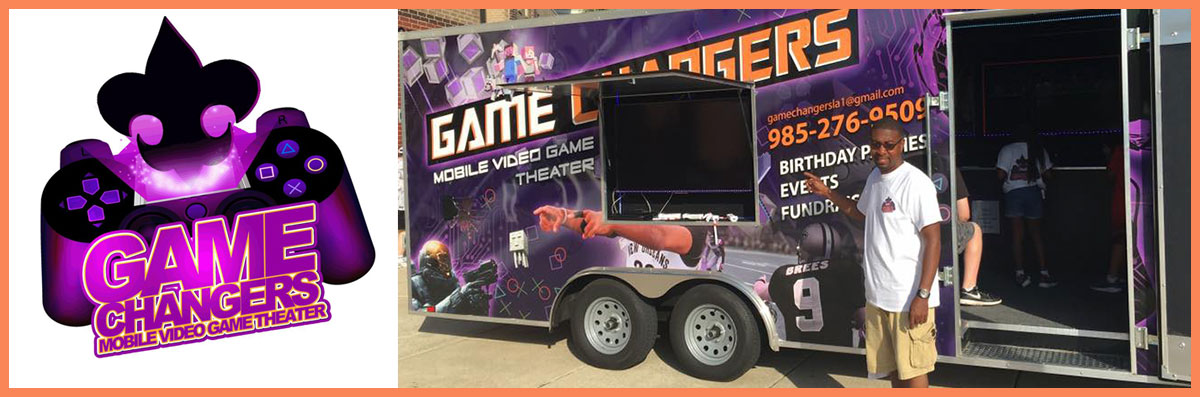 Game Changers Mobile Video Game Theater Offers Mobile Corporate Events in Covington, LA