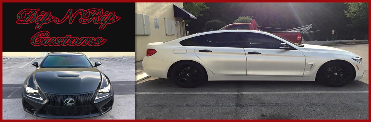 Dip N Rip Customs Miami Applies Vehicle Paint in Opa-locka, FL