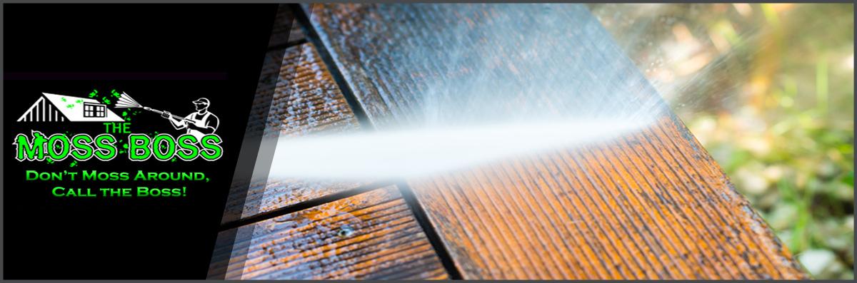 The Moss Boss LLC. Offers Pressure Washing in Newman Lake, WA