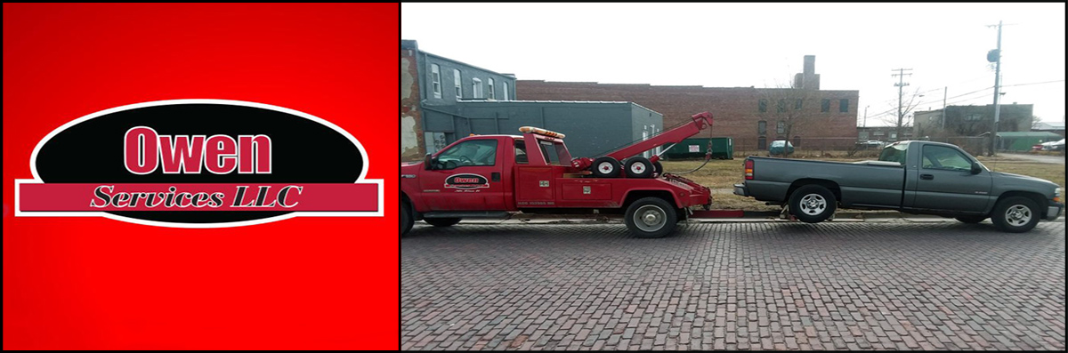 Owen Services LLC Offers Towing Services in Mount Zion, IL