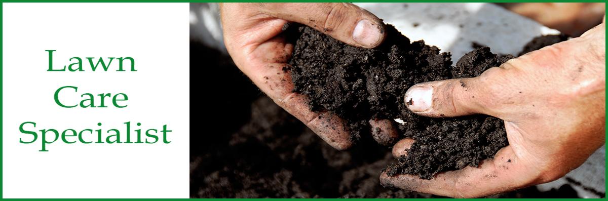 Lawn Care Specialist Does Fertilization in Troy, NC