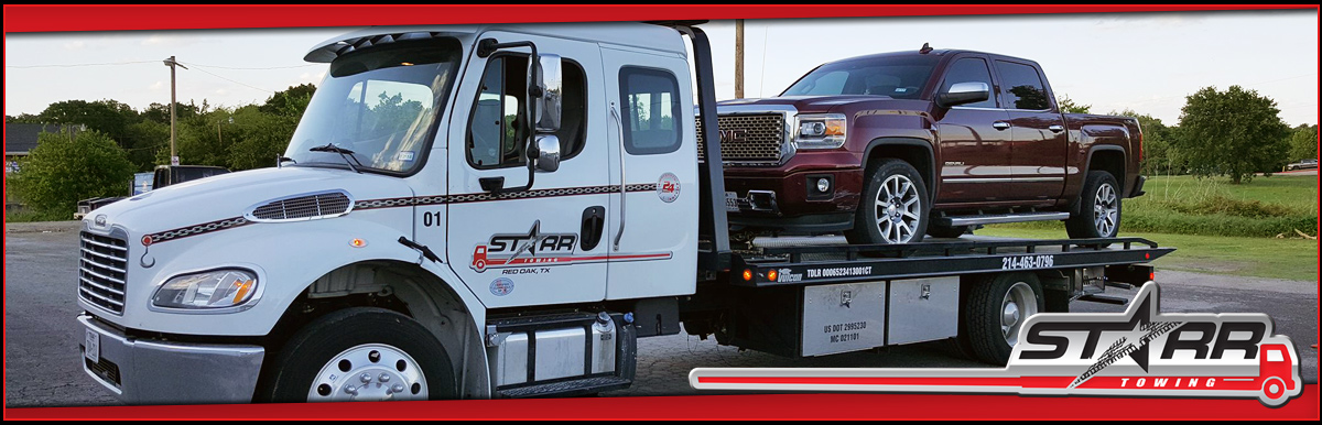 A Starr Towing does Car Towing in Red Oak, TX