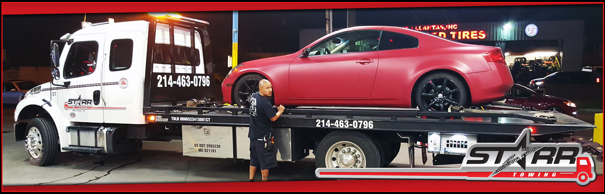 A Starr Towing does 24 Hour Towing in Red Oak, TX