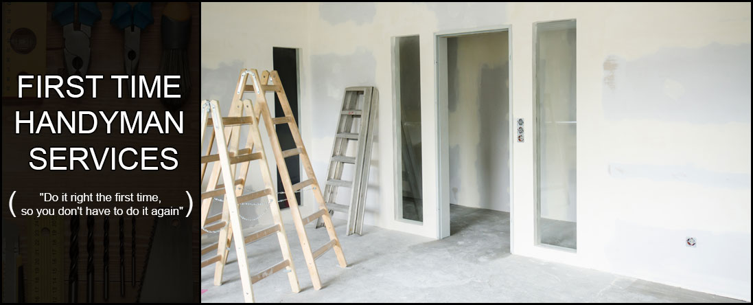 First Time Handyman Services Offers Drywall Repair in Savannah, GA