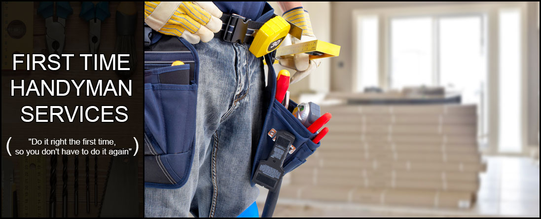 First Time Handyman Services Offers Remodeling in Savannah, GA