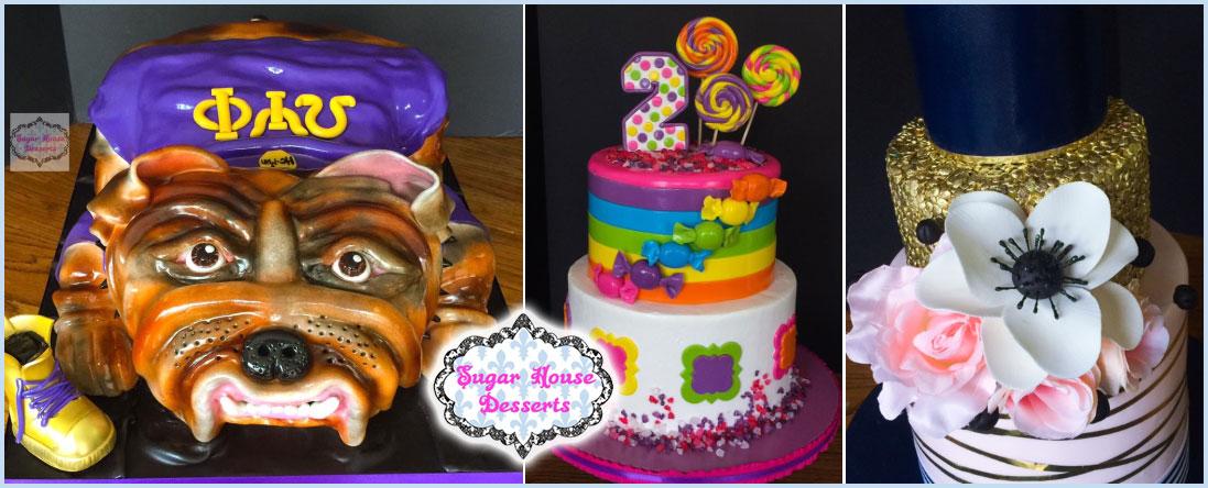 Sugar House Desserts Specializes in Cakes in Shreveport, LA