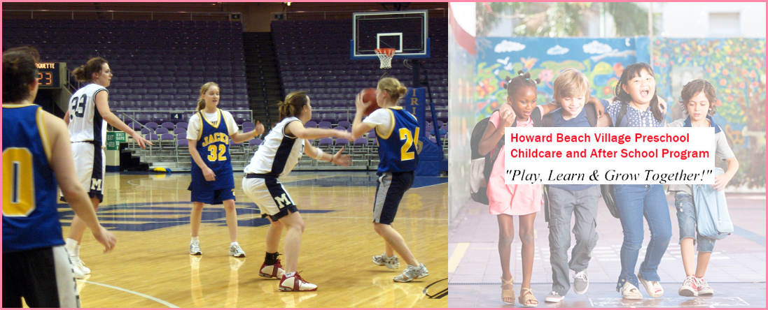 Howard Beach Village Preschool Childcare and After School Program Hosts KNULIFE Basketball Camp in Howard Beach, NY