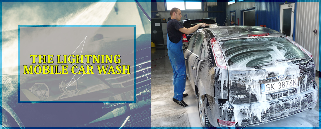 The Lightning Mobile Car Wash Services Vehicles in Phoenix, AZ