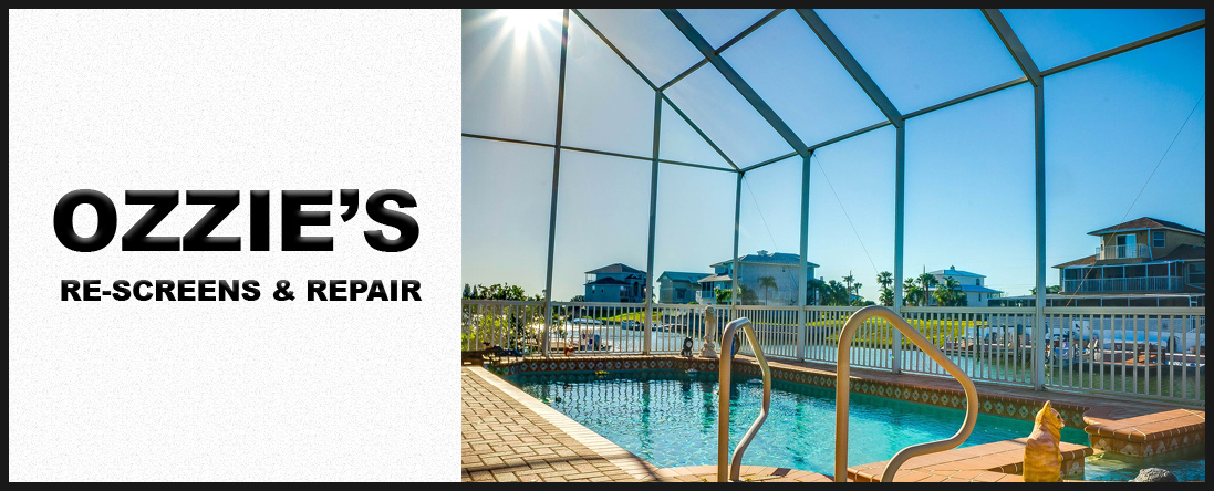 Ozzie's Re-Screens & Repair Offers Pool Screen Services in Kissimmee, FL
