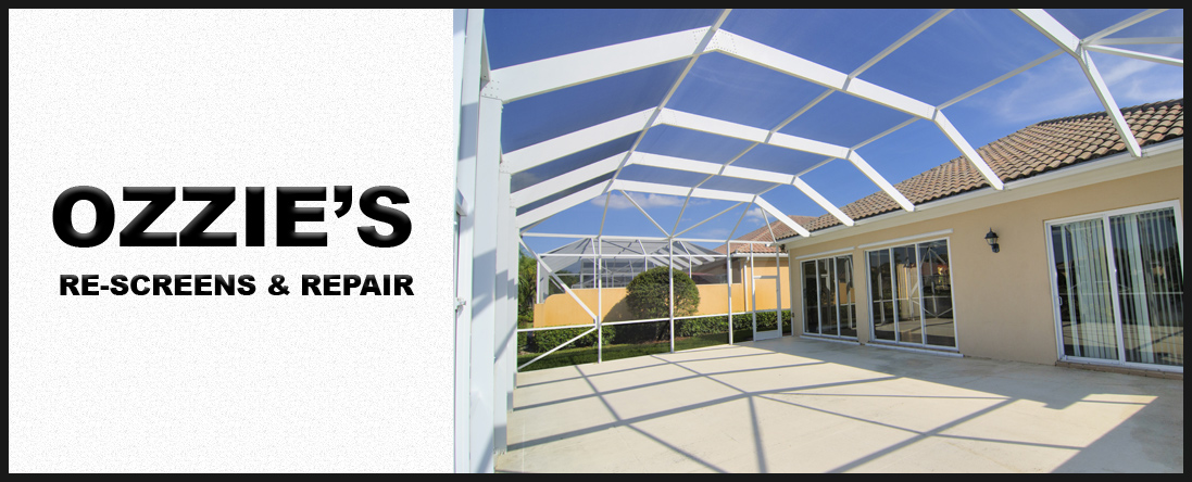 Ozzie's Re-Screens & Repair Offers Patio Services in Kissimmee, FL