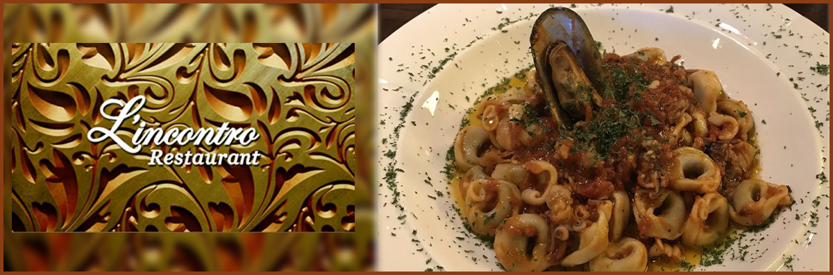 L'incontro Restaurant serves Italian Cuisine in Johns Creek, GA