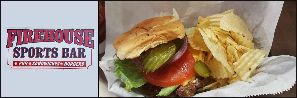 Firehouse Sports Bar Serves American Food in Wichita, KS